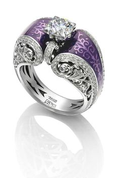 purple wedding ring i wold so rock this - Purple Wedding Ring