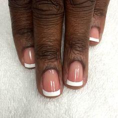black skin manicure - Google Search