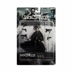 """Neo aka Thomas Anderson Action Figure - The Matrix """"The Film"""" Featuring"""