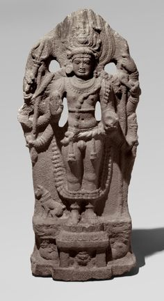 Ancient History India -                                                              Philadelphia Museum of Art - Collections Object : Shiva as Bhairava