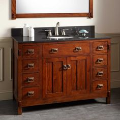 "48"" Harington Oak Vanity for Undermount Sink"