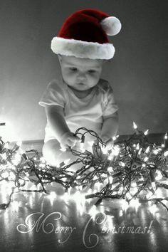 Christmas baby pic