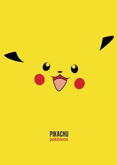 Minimalist Pokemon Posters by Will Gee, via Behance