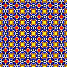 Mediterranean geometry Art Print