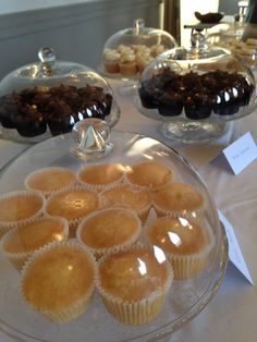 Milk chocolate, lemon drizzle & Victoria sponge cupcakes for the lovely townsfolk of chipping norton