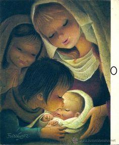 0689N - Ferrándiz - Ediciones SUBI Serie 1539.4 - 18,5 x 15,3 cms