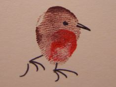 I have been making some fingerprint robin Christmas cards, to add to my stock of cards for fairs. Here are the Twelve Robins of Christmas. Christmas Cards To Make, Christmas Crafts For Kids, Xmas Crafts, Kids Christmas, Childrens Christmas Card Ideas, Fingerprint Cards, Handprint Art, Toddler Christmas, Christmas Paintings