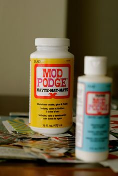 'A Roundup of How To's Using Mod Podge...!' (via Apartment Therapy)