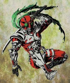 Kamen Rider Series, Dark Night, Japan, Fantasy, Superhero, Anime, Comic, Characters, Wallpapers