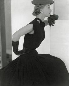 Horst P. Horst: 'Lisa Hat and Gloves', 1951.