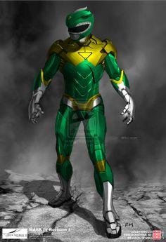 Iron [Green] Ranger by thesometimers@deviantART