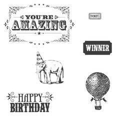 You're Amazing Clear-Mount Stamp Set - Stampin' Up!