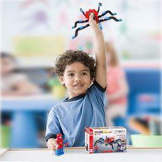 Kids Boys Spiderman Series Educational Construction Toys Building Blocks Bricks #Unbranded