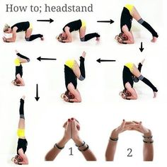 Ideas For How To Learn Yoga Handstand Fitness Workouts, Yoga Fitness, Learn Yoga, How To Do Yoga, Yoga Challenge, Yoga Inspiration, Yoga Handstand, How To Do Headstand, Handstands