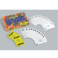 Original Krypto: Family Arithmetic Game (Toy)  http://www.picter.org/?p=B000P10PF4