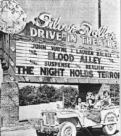 Pictures Of Drive In Movie Theaters From 1950 S Silver Dollar Phoenix