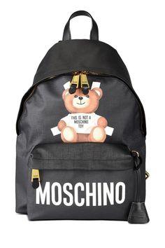 Moschino Moschino Not A Moschino Toy Black Backpack