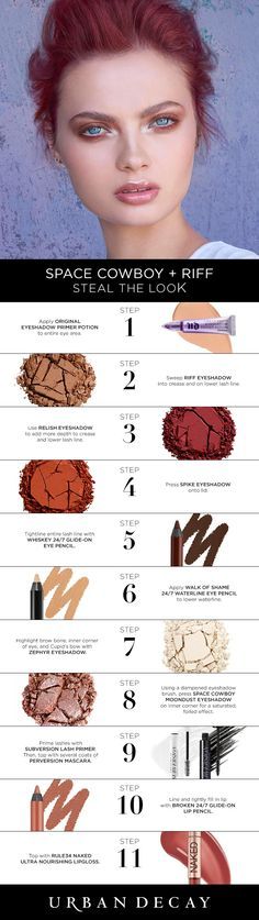 Create this look using a few of our favorite UD single eyeshadows. Get the steps below and click now to shop!