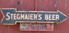 stegmaier beer sign