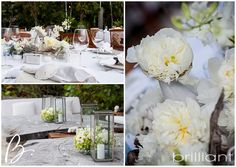 Rustic beach wedding style decor at Parrot Cay in Turks & Caicos, Brilliant By Tropical