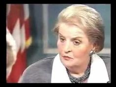 ▶ Madeleine Albright - The deaths of 500,000 Iraqi children was worth it for Iraq's non existent WMD's - YouTube
