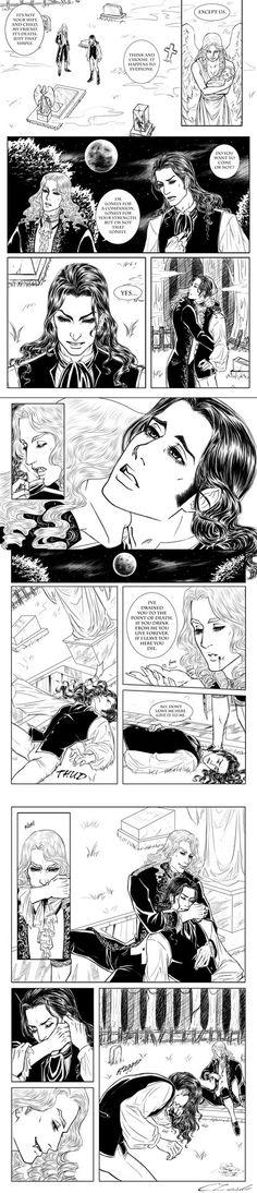 Interview with the Vampire - Louis' Transformation by Meiseki.deviantart.com on @DeviantArt
