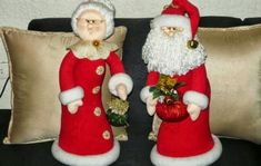 muñecos navideños con sus moldes gratis - Buscar con Google