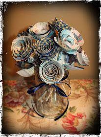 Dear Demure,: Paper Bouquet
