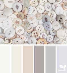 Buttoned Tones - http://design-seeds.com/home/entry/buttoned-tones