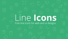 Today we are giving away 48 beautiful free line icon set , you can see the preview below. Line icons are new trend flat design plus line icon is a.