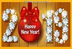 Happy New Year Gif 2020 Golden Diamond Greetings Animation Happy New Year Pictures, Happy New Year Wallpaper, Happy New Year Wishes, Happy New Year Greetings, Moving Pictures, Happy Images, Happy Year, New Year Pics, New Year Msg