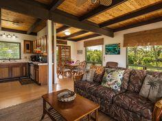 Living room - Haena house rental