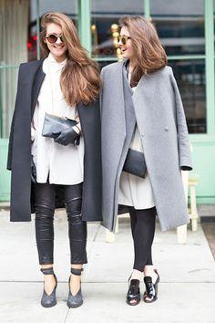 collarless coats