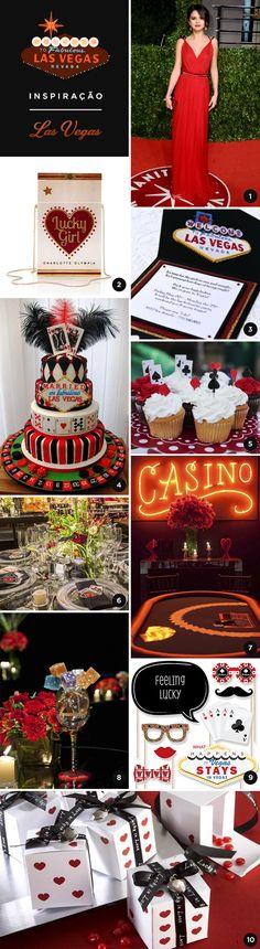 10 ideias para uma festa de 15 anos inspirada em Las Vegas - Constance Zahn   15 anos