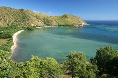 Beaches along the northern coast , East Timor