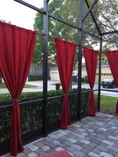 Patio Curtains Waterproof