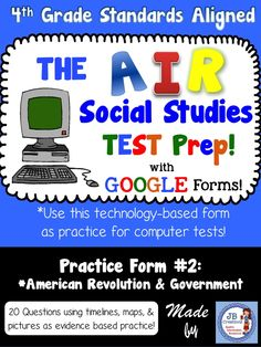 AIR Test Prep: 3rd Grade Language Arts (Common Core Aligned)
