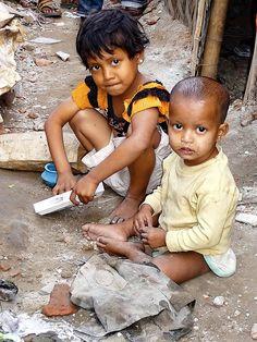 Korail Slum kids, Dhaka City, Bangladesh