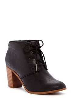 9df074e4ae42 Lunata Lace-Up Bootie Ross Store