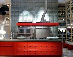 Concept Red Kitchen From Eurocucina 2012
