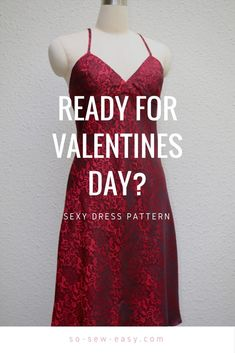 For the tall curvy girl sizes S-M-L valentines day dress #freepattern #freetutorial #soseweasy #valentinesday