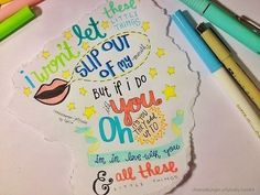 One direction lyric