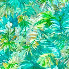 Bahamas Lime  100 % Cotton  280 cm Stuart Graham, Silver Mist, Conversational Prints, Tropical Forest, Little Monsters, Sea Foam, Color Trends, Hibiscus, Decorative Accessories