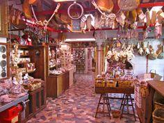 Antica Macelleria Falorni, Greve in Chianti. Oldest butcher shop in Italy.