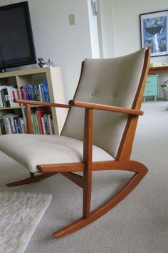 ... chair circa late 50s early 60s. Comfortable seat with...