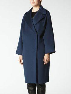 Cashmere, wool and angora coat max mara coats