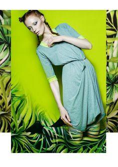 TROPICAL design- Kristina Sviderskaite photo- Greta Bernotaite styling- Alma Terese Urbonaite make-up- Agne Urbonaite hair - Robeen Snapback model- Sandra Gajauskaite