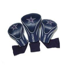 Team Golf Dallas Cowboys 3Pk Contour Sock Headcovers 32394