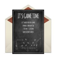14 Affordable Super Bowl Party Invites Super bowl party Bowls and