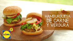 Hamburguesa De Carne y Verduras - Recetas De BBQ Y Carne